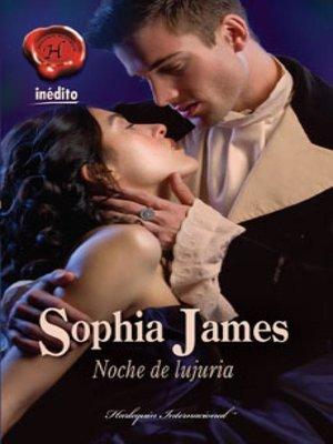 cover image of Noche de lujuria