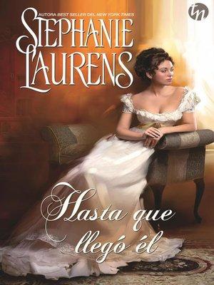 cover image of Hasta que llegó él