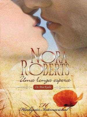 cover image of Uma longa espera
