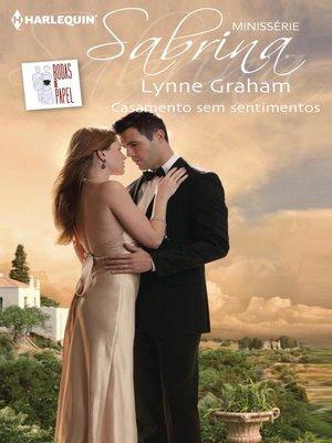 cover image of Casamento sem sentimentos