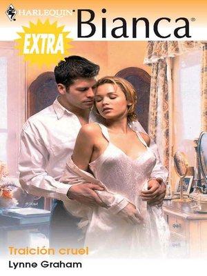 cover image of Traición cruel