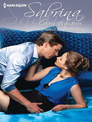 cover image of O sabor da tentação