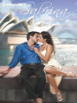 cover image of O preço da paixão