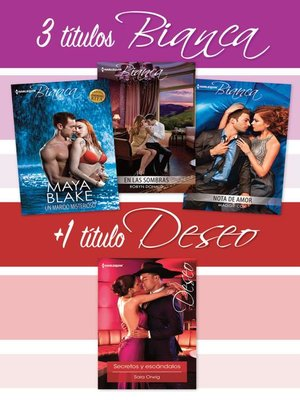cover image of Pack Bianca y Deseo junio 2016