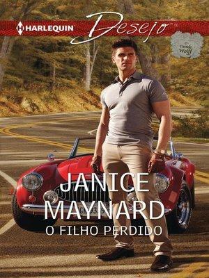 cover image of O filho perdido