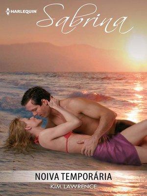 cover image of Noiva temporária