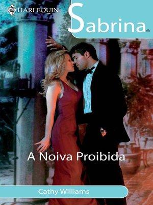 cover image of A noiva proibida