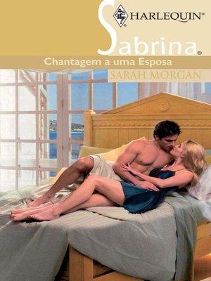cover image of Chantagem a uma esposa