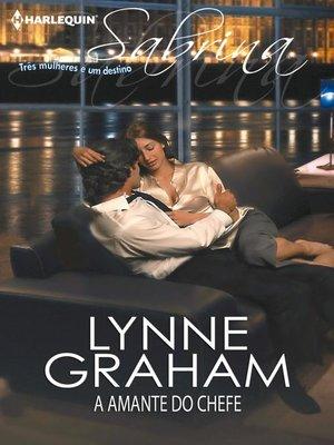 cover image of A amante do chefe