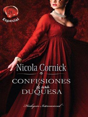 cover image of Confesiones de una duquesa