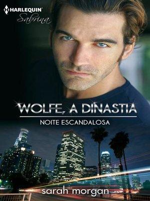 cover image of Noite escandalosa