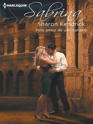 cover image of Pelo amor de um italiano