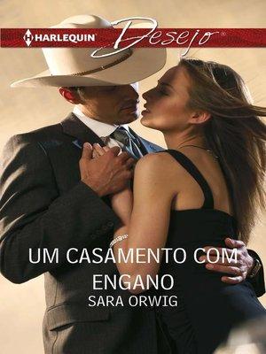 cover image of Um casamento com engano