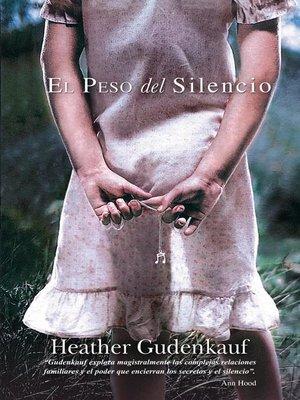 cover image of El peso del silencio
