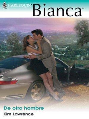 cover image of De otro hombre