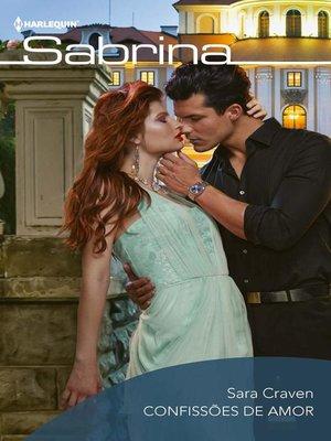 cover image of Confissões de amor