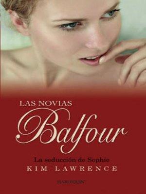 cover image of La seducción de Sophie