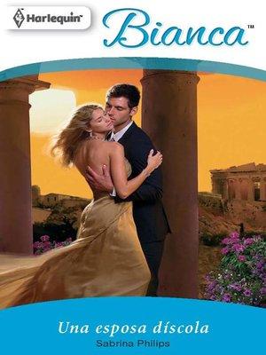 cover image of Una esposa díscola