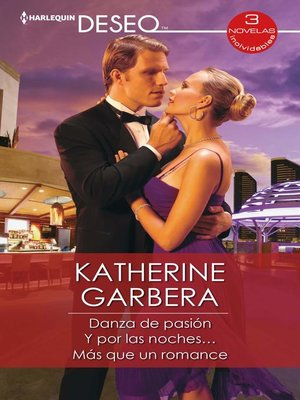 cover image of Danza de pasión--Y por las noches...--Más que un romance