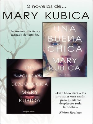 cover image of Pack Mary Kubica--Enero 2018