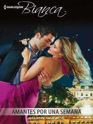 cover image of Amantes por una semana