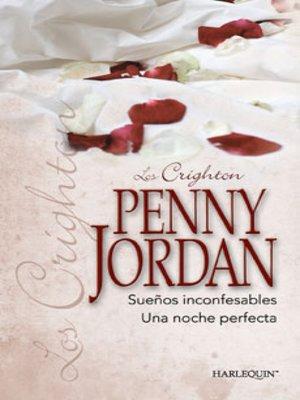 cover image of Sueños inconfesables--Una noche perfecta