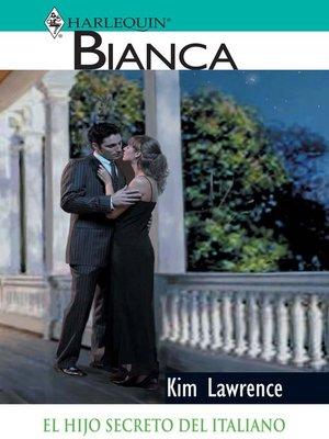 cover image of El hijo secreto del italiano