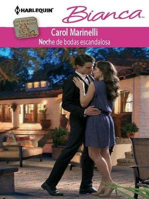 cover image of Noche de bodas escandalosa