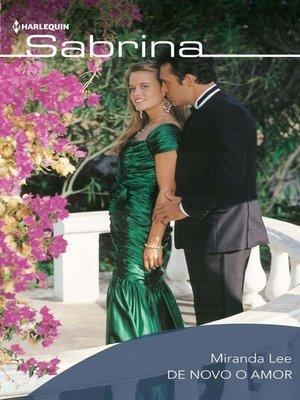 cover image of De novo o amor