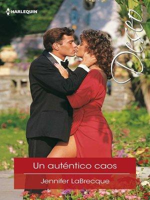 cover image of Un auténtico caos