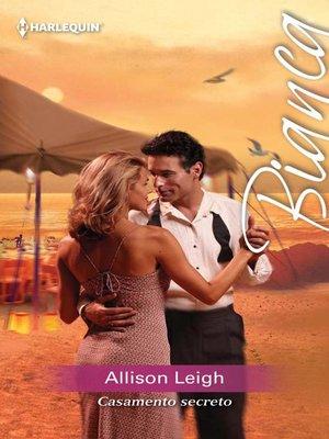 cover image of Casamento secreto