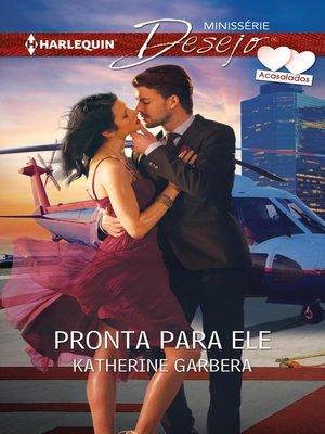 cover image of Pronta para ele