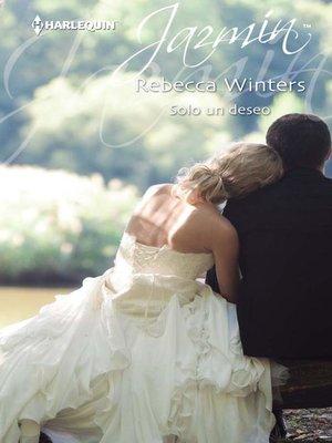 cover image of Solo un deseo