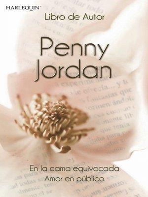 cover image of En la cama equivocada--Amor en público