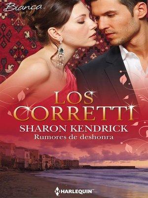 cover image of Rumores de deshonra