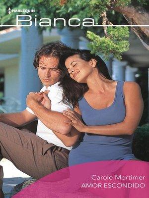 cover image of Amor escondido