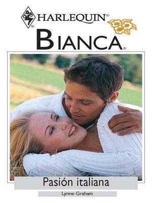 cover image of Pasión italiana
