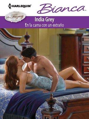 cover image of En la cama con un extraño