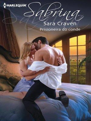 cover image of Prisioneira do conde