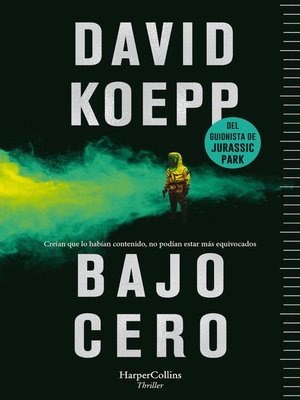 cover image of Bajo cero