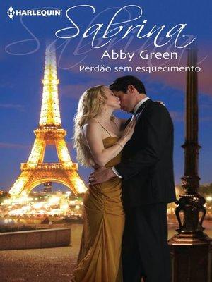 cover image of Perdão sem esquecimento