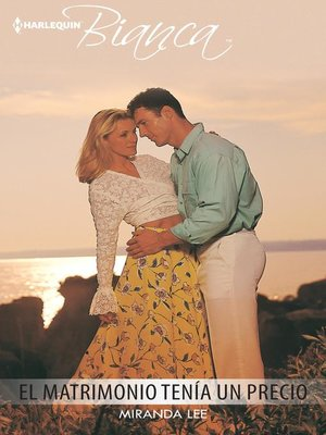 cover image of El matrimonio tenía un precio