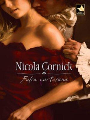 cover image of Falsa cortesana