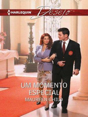 cover image of Um momento especial