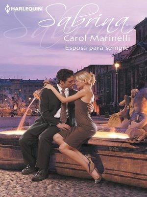 cover image of Esposa para sempre