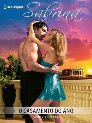 cover image of O casamento do ano