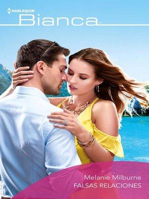 cover image of Falsas relaciones
