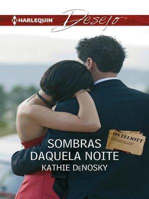 cover image of Sombras daquela noite