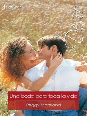 cover image of Una boda para toda la vida
