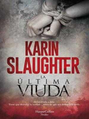 cover image of La última viuda